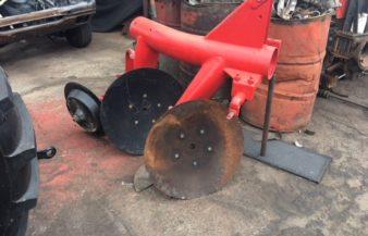 2 Row dish plough