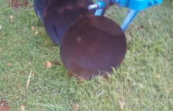 4 row dish plough