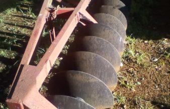 One way dish plough