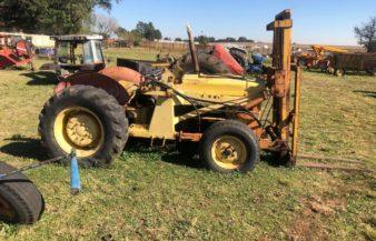 Massey Ferguson 40 With Forklifts Non Runner
