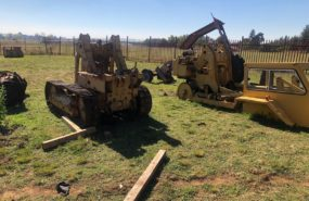 Massey Ferguson 200 Dozers parts for stripping