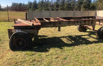 Tip trailer As is